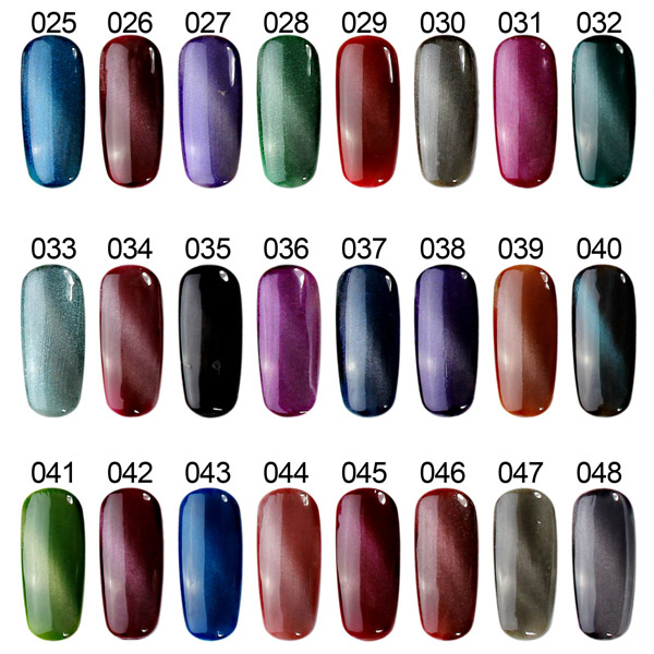 108 colors cat eyes magnetic magic nail art uv gel polish 12ml this is cat eyes magic magnetic stick board diy 3d nail art you can use it to creat the pattern which you want please click on the title or the picture to prinsesfo Images