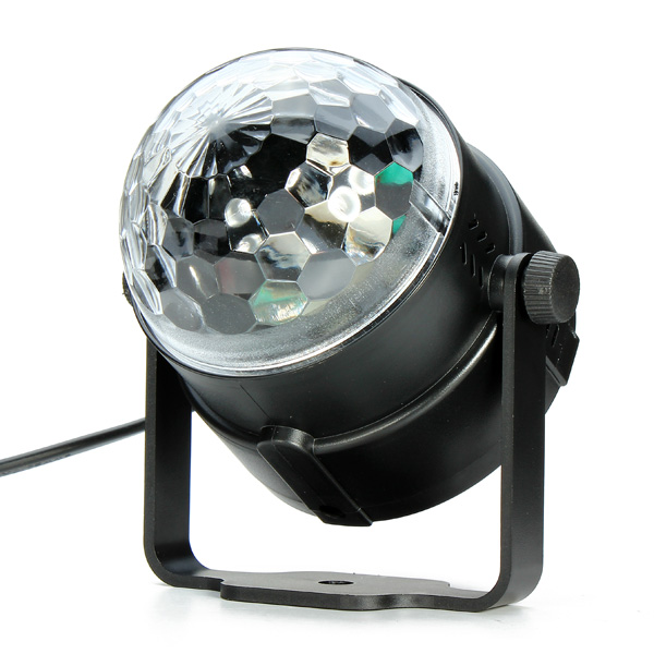 Mini Rgb Led Crystal Magic Ball Effect Stage Lighting