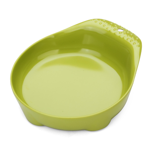 DB-11 Pet Bowl Scoop Ladle Shape Plastic No-slip Feeder
