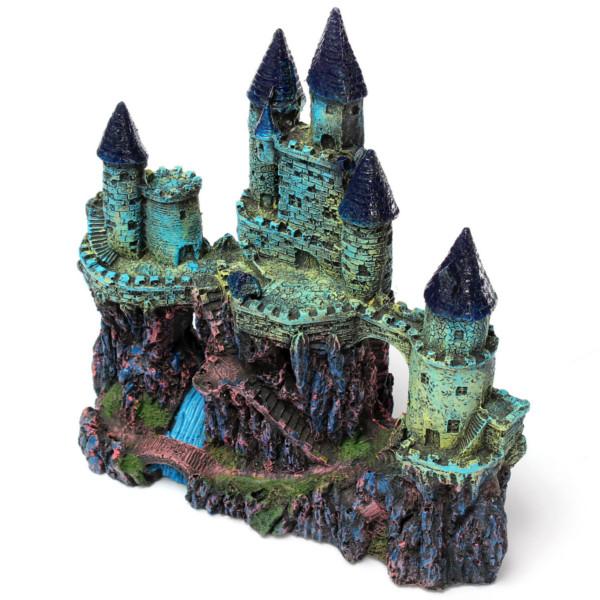 Fish Tank Resin Castle