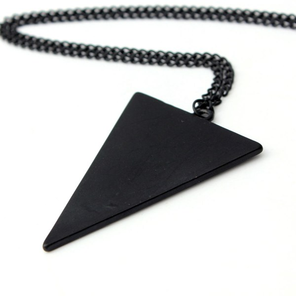 Punk Triangle Necklace