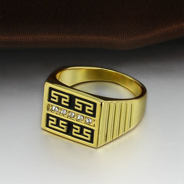 Gold Plated Great Wall Ring