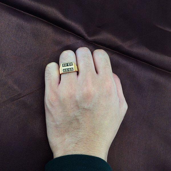 Great Wall Men Ring