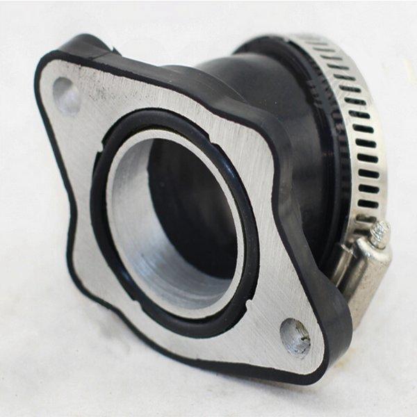 Image of Pe gomma carburatore accessori per tubi di aspirazione connettore adattatore angolato per bici moto sporcizia