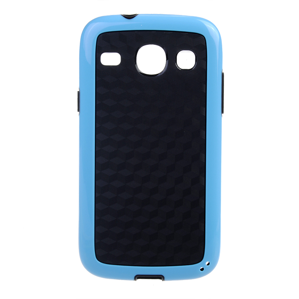 Dual Color TPU PC Protective Back Case For SAMSUNG Galaxy Core i8206
