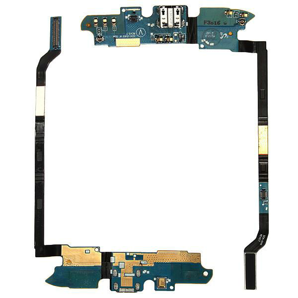USB Charge Port Flex Cable Part With Mic For Samsung Galaxy S4 i9500