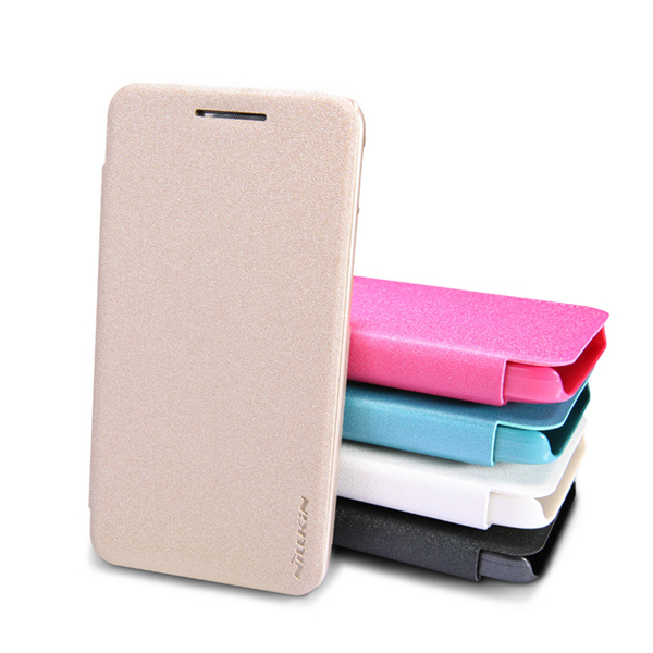 Nillkin Sparkle Leather Case Cover For Asus Zenfone 4