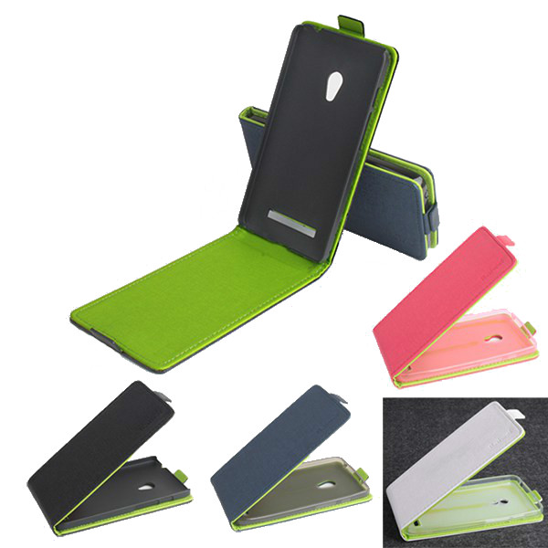 Hit Color Flip PU Leather Protective Case Cover For ASUS Zenfone 5