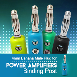 4mm Banana Male Plug