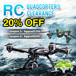 RC quadcopter collection