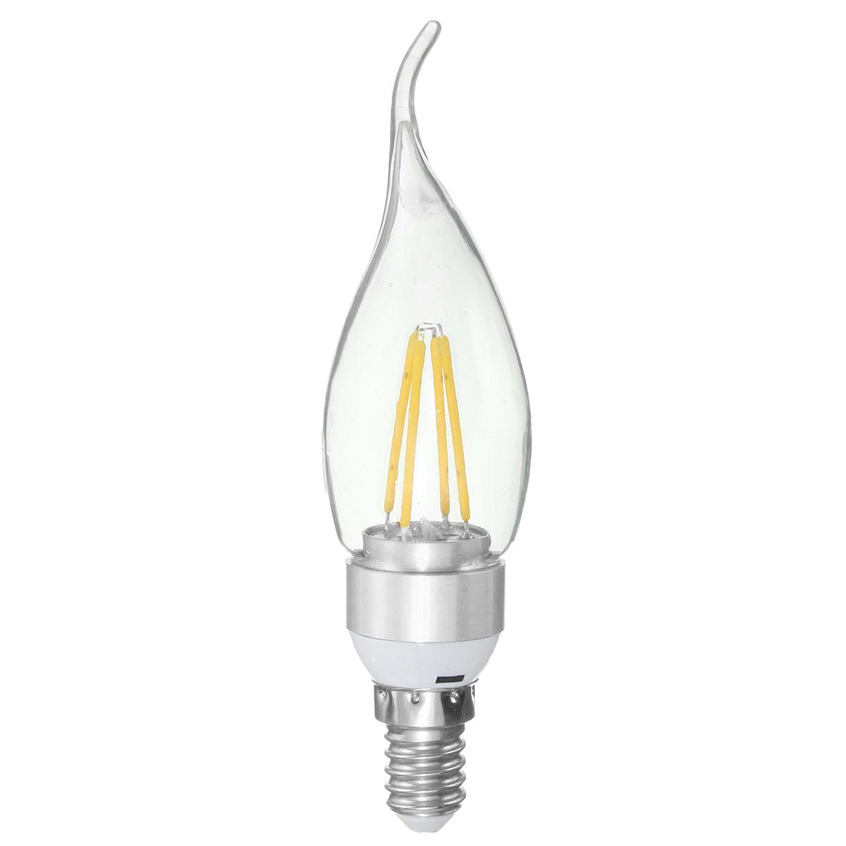 E27 E14 E12 B22 B15 3 5w 4leds Pull Tail Edison Pure White Warm White Light Lamp Bulb Ac220v