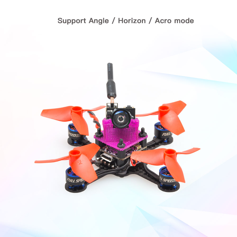 Full Speed Beebee-66 LITE RC Drone FPV Racer ARF Omnibus F3 OSD 5.8G 40CH 4 In 1 6A Blheli_S ESC 1S