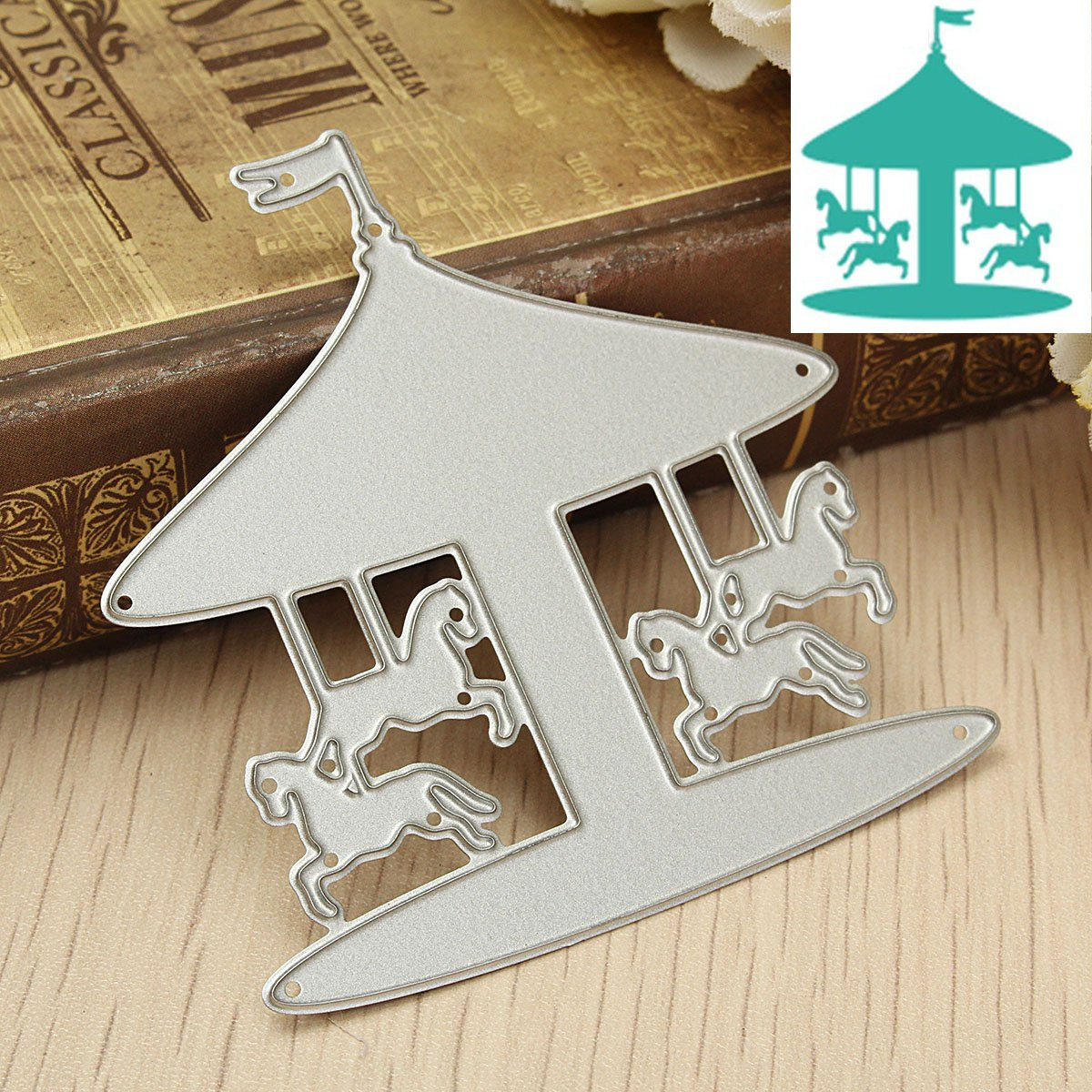 Sunhat Metal Cutting Dies Stencil for DIY Scrapbooking Paper Cards Embossing CL