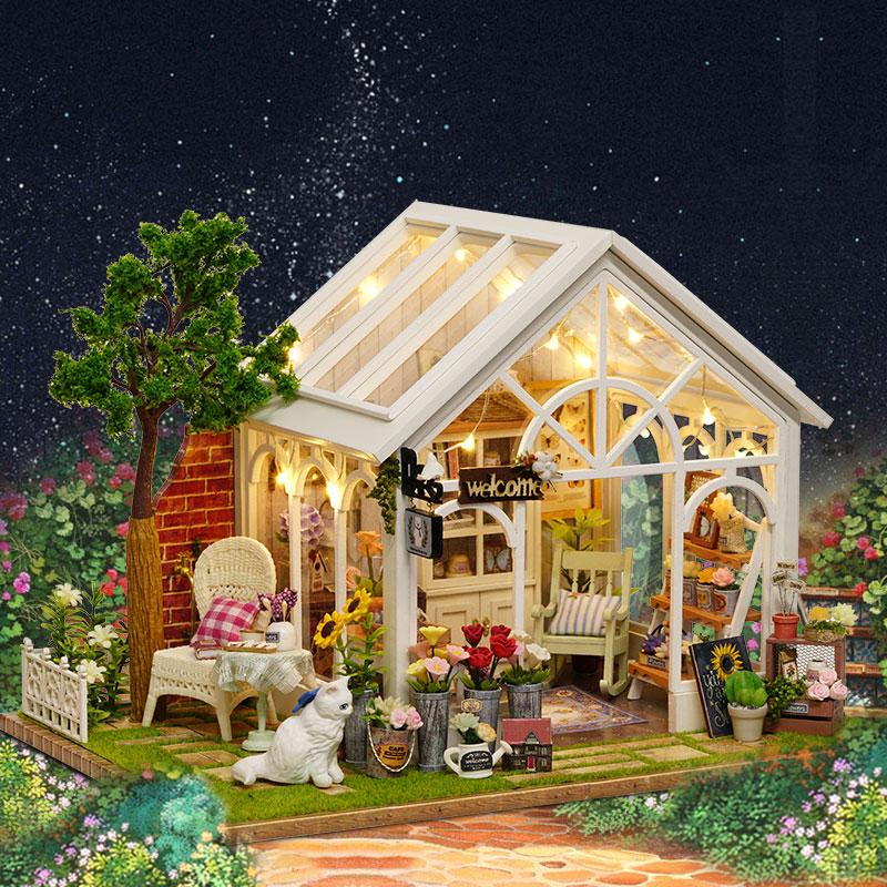 CuteRoom A-063-C Sunshine Greenhouse Flower Shop DIY Do