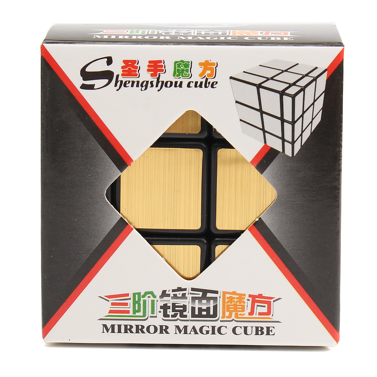 3x3x3 Mirror Magic Speed Cube Ultra-smooth Professional Puzzle Twist Toy Gift - Photo: 9