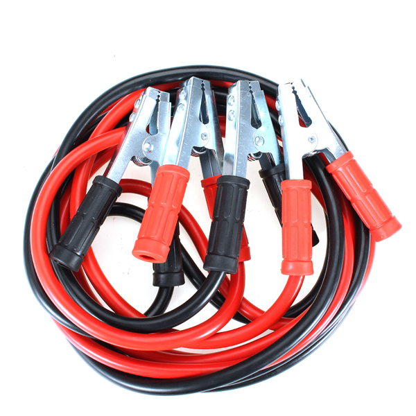 Buy 1000A 4 Meters Copper Clamp Emergency Start-up Battery Connection Line Automotive Supplies