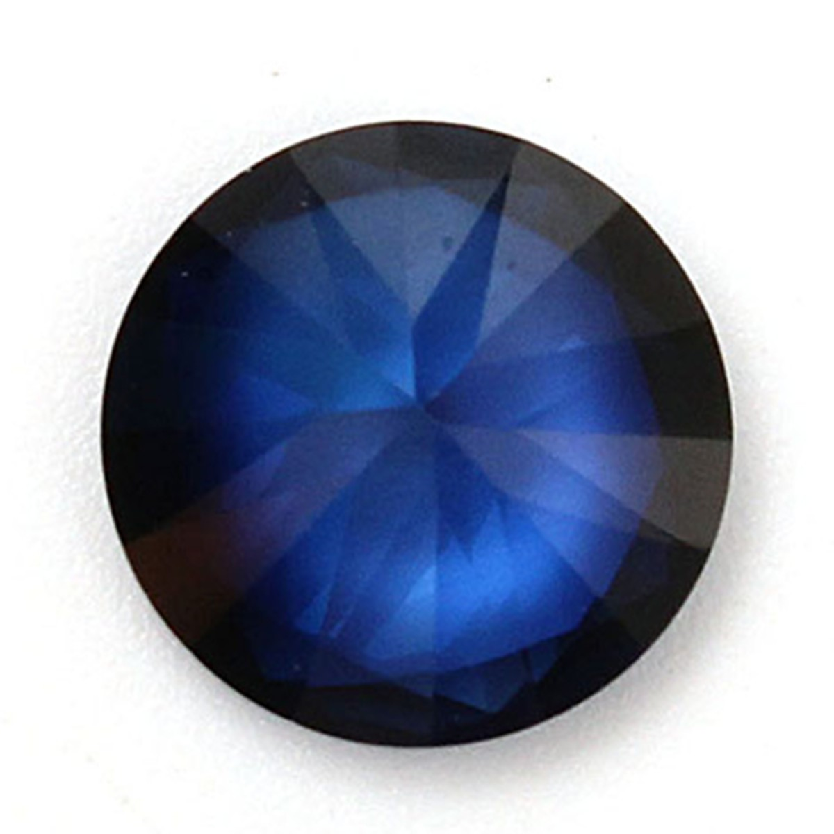 10mm Blue Sapphire Gem Round Unheated Gemstone Diy Loose
