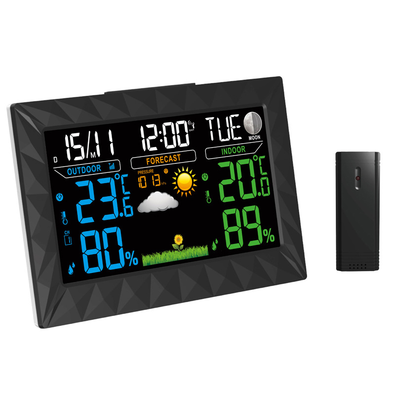 TS-Y01 Wireless Color Weather Station Forecast Thermome