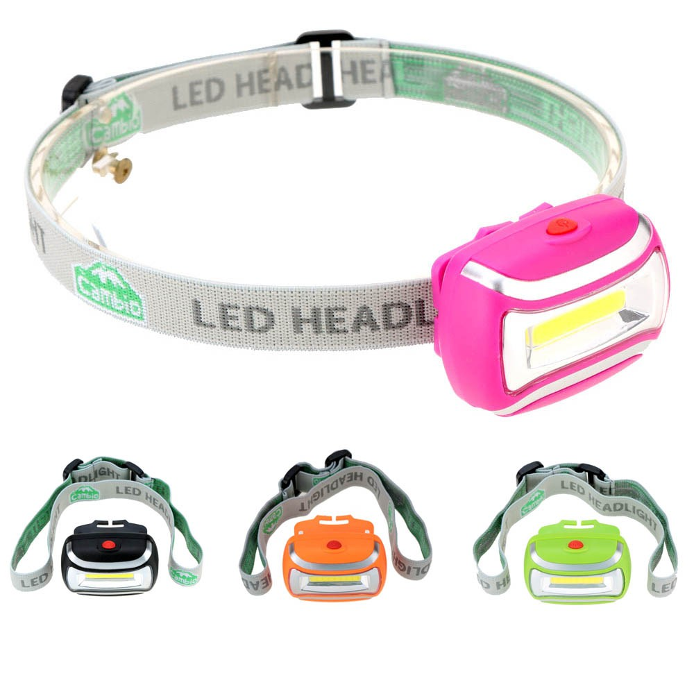 Outdoor Lighting LED Headlight Camping Hiking Headlamp