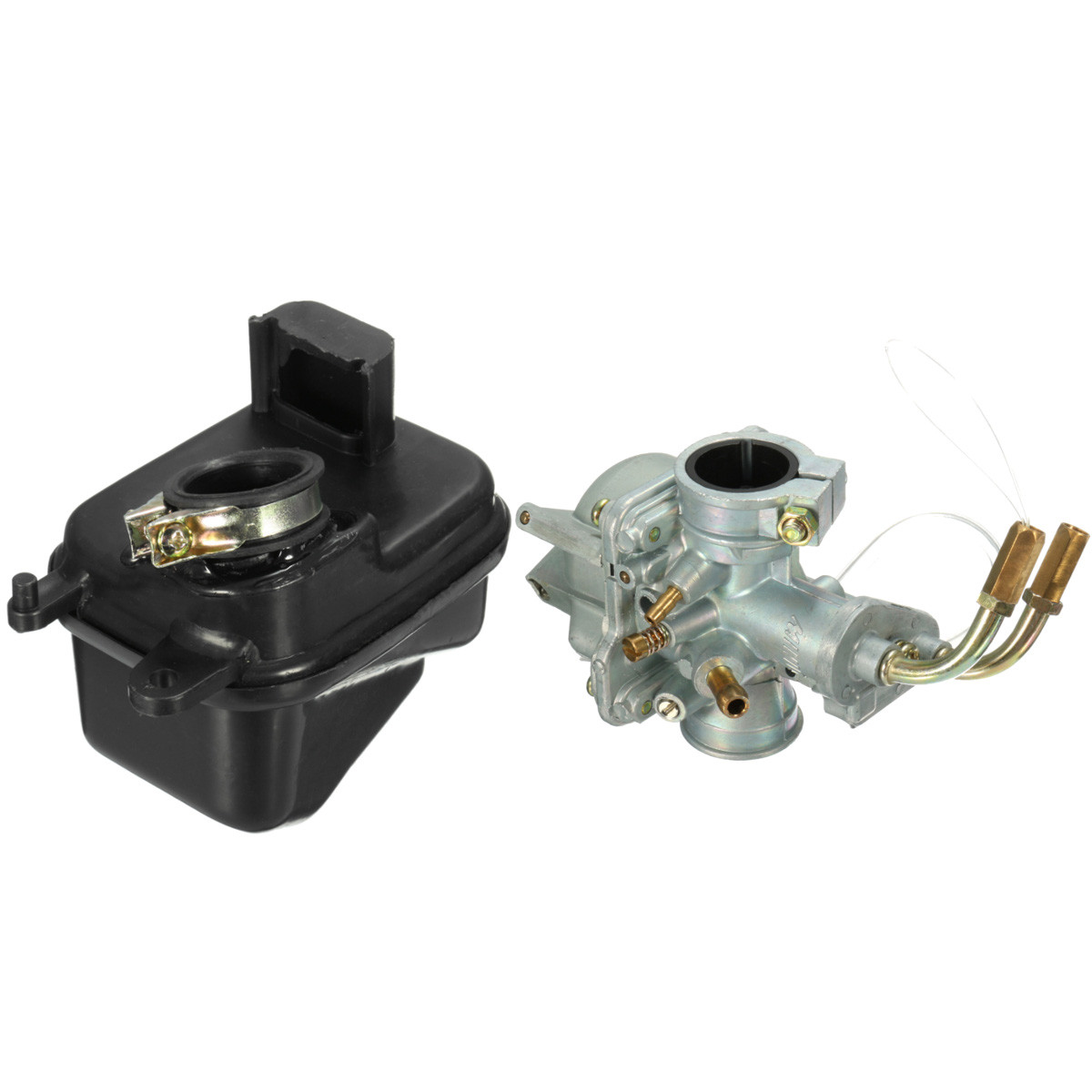 Buy Carburetor and Air Filter Box For Yamaha PEEWEE PW50 PY50