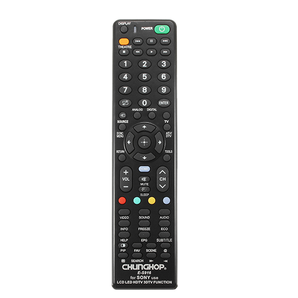 Buy CHUNGHOP E-S916 Universal Remote Control For Sony LCD LED HDTV