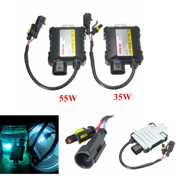 12V 55W or 35W Slim Car Xenon HID Ballast Waterproof Fo