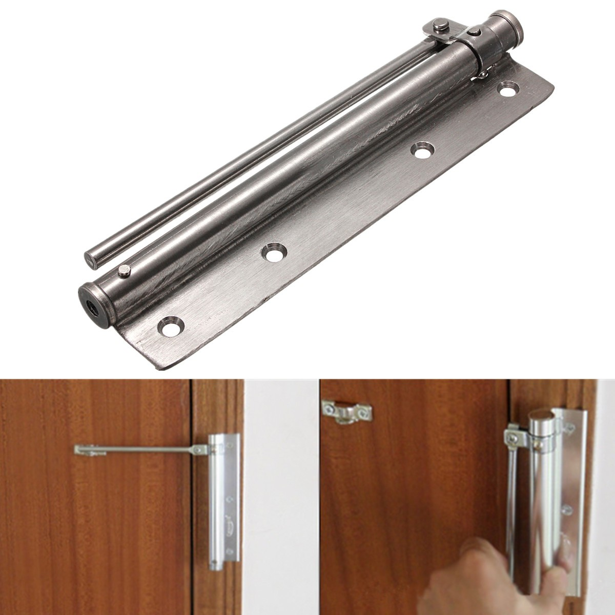 Automatic closing door closer fire rated stainless steel