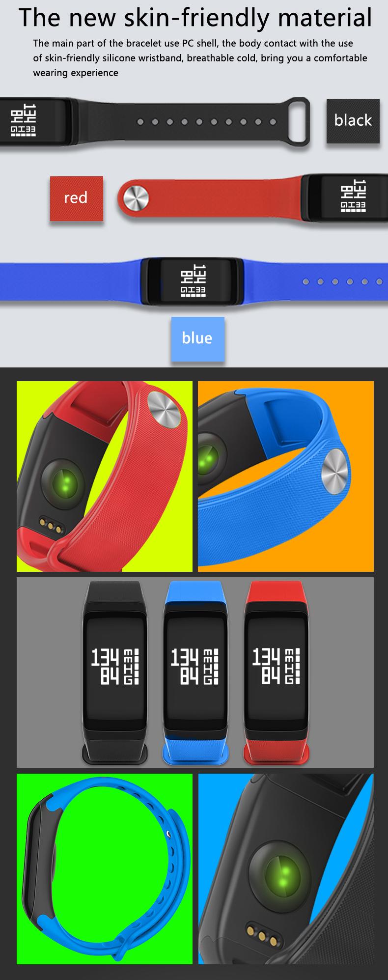 F1 Sports Smart Watch Heart Rate Blood Pressure Blood Oxygen Monitor Waterproof