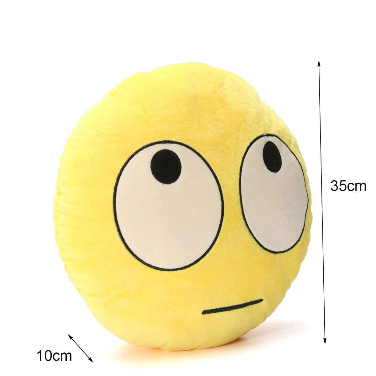 Rolling Eyes Emoji Emoticon Pillow Plush Toy Doll Gift   - Photo: 7