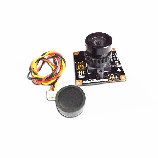 900TVL 720P 130W PAL/NTSC Switchable 136° Wide Angle mini FPV Camera - Photo: 3