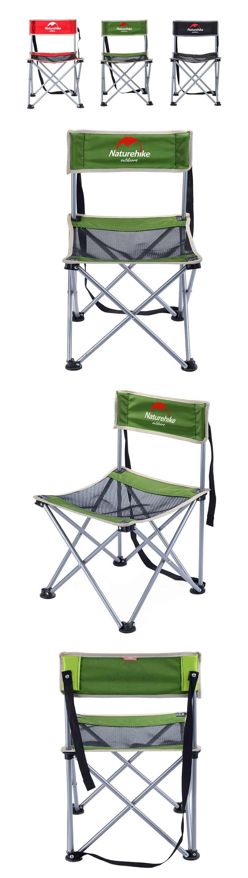 Naturehike Camp Folding Chair Portable Picnic Beach Ultralight