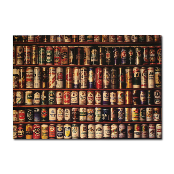 Beer Collection Poster Kraft Paper Wall Poster 21 inch