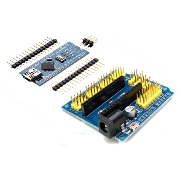 NANO Expansion Board + ATmega328P Nano V3 Improved Vers