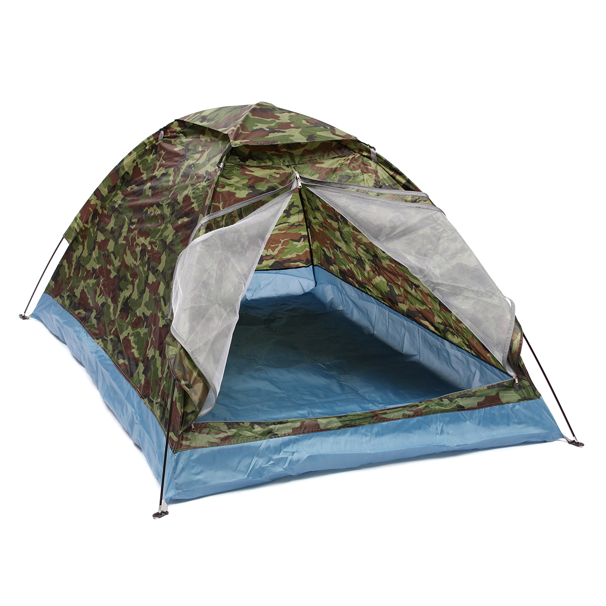Outdoor 1-2 Persons Camping Tent Double Layer Waterproo