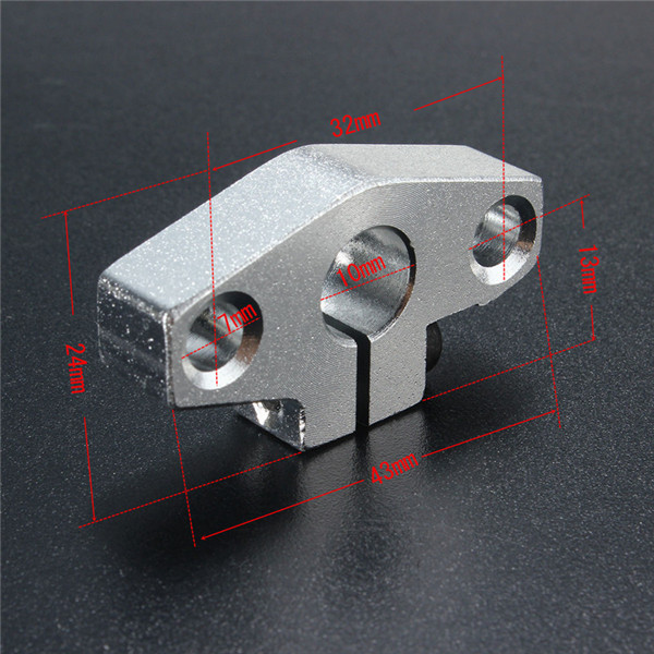 2PCS SHF8 8mm Linear Bearing Shaft Support linear rail support CNC parts ed