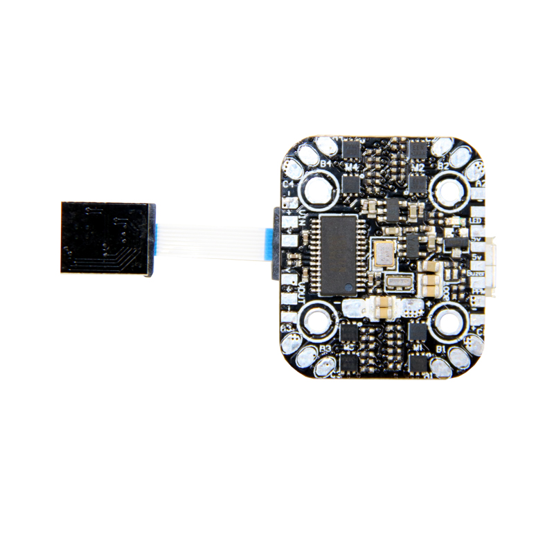 16x16mm SPC Maker Mini F3 1S Flight Controller 5V BEC Built-in 4in1 ESC for RC FPV Racing Drone