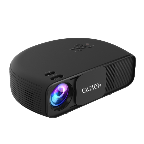 GIGXON G760 3200 Lumens LED Projector with SD HDMI Support 1080P for Home Cinema Theater