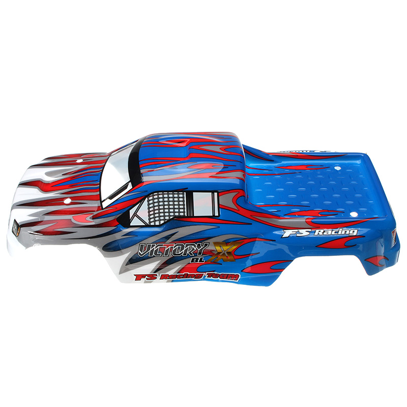 FS Racing 538551 Red & Blue RC Car Shell FS53692 1/10 RC Car Parts - Photo: 4