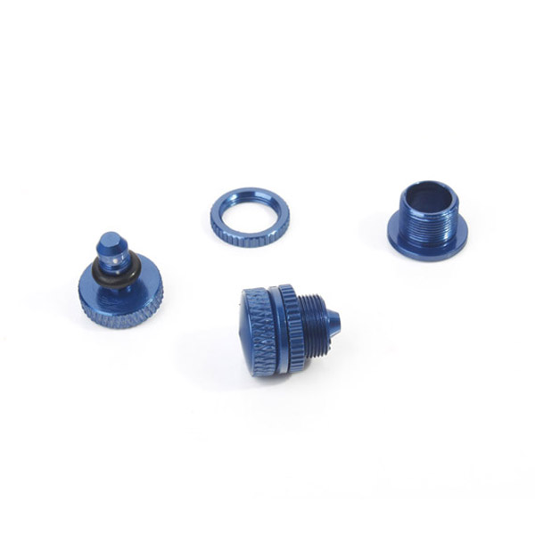 6STARHOBBY CNC Oil Plug For Methanol Gasoline RC Airplane 2PCS
