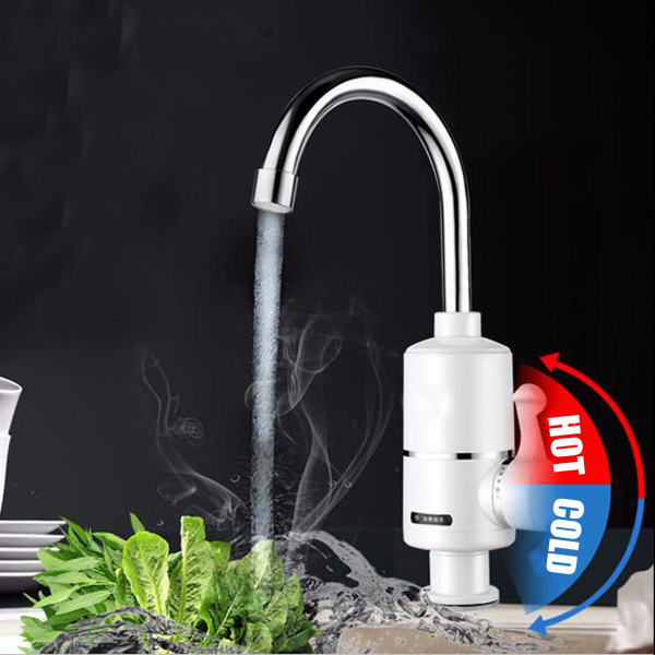 Buy Instant Electric Faucet Heating Fast Water Heater Cold & Hot Mixer Tap