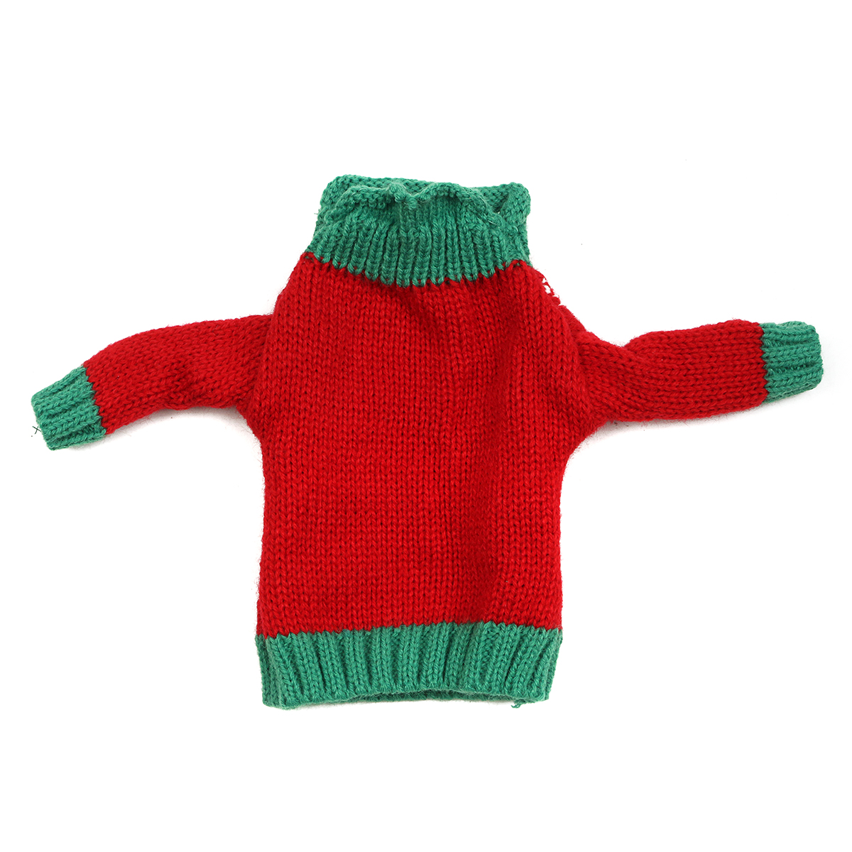 Christmas Knitted Sweater Lid Hat Wine Bottle Cover Wrap Bag Xmas Decoration - Photo: 11