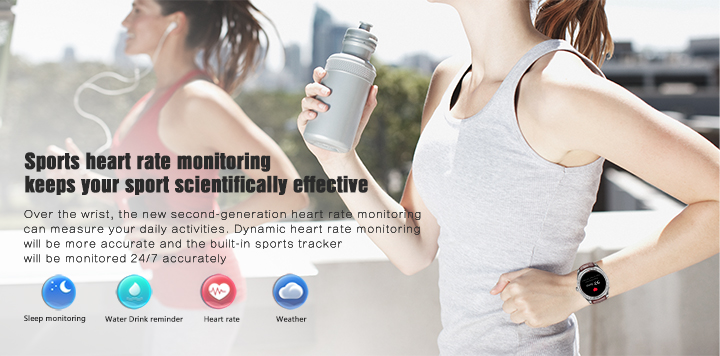 NO.1 D7 NFC Unlock GPS Call Heart Rate Monitor Android Smart Watch for iPhone Samsung Huawei
