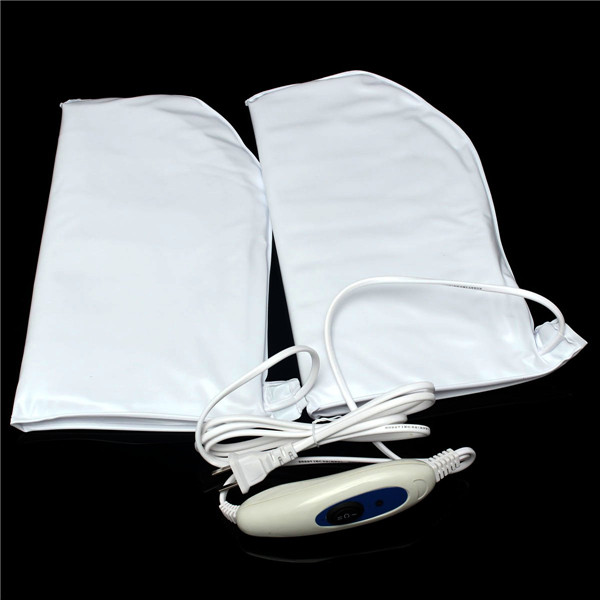 Electric Heated Warming Booties Moist Therapy Manicure