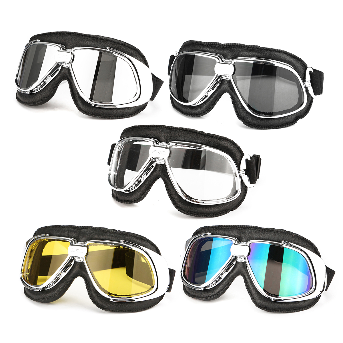 Motorbike Motorcycle Racing Goggle Eye Protect Helmet Glasses