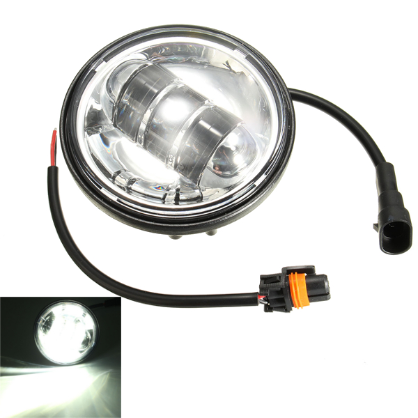 Buy 4.5 inch 30W 6 LED Motorcycle Auxiliary Fog Headlight Lamp for Harley