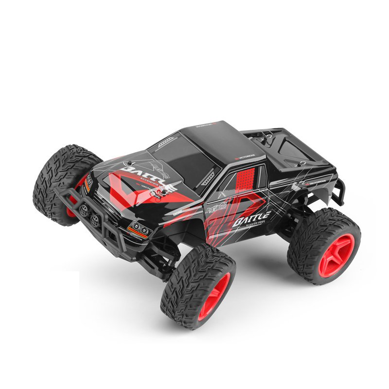 Wltoys L219 1/10 2.4G 2WD 30km/h Racing RC Car Brushed Full Scale Steering Big Foot Truck Toys