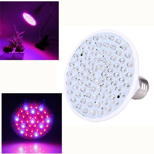 E27 3W/5W/7W LED Grow Light Bulb Plant Lamp for Vegetab