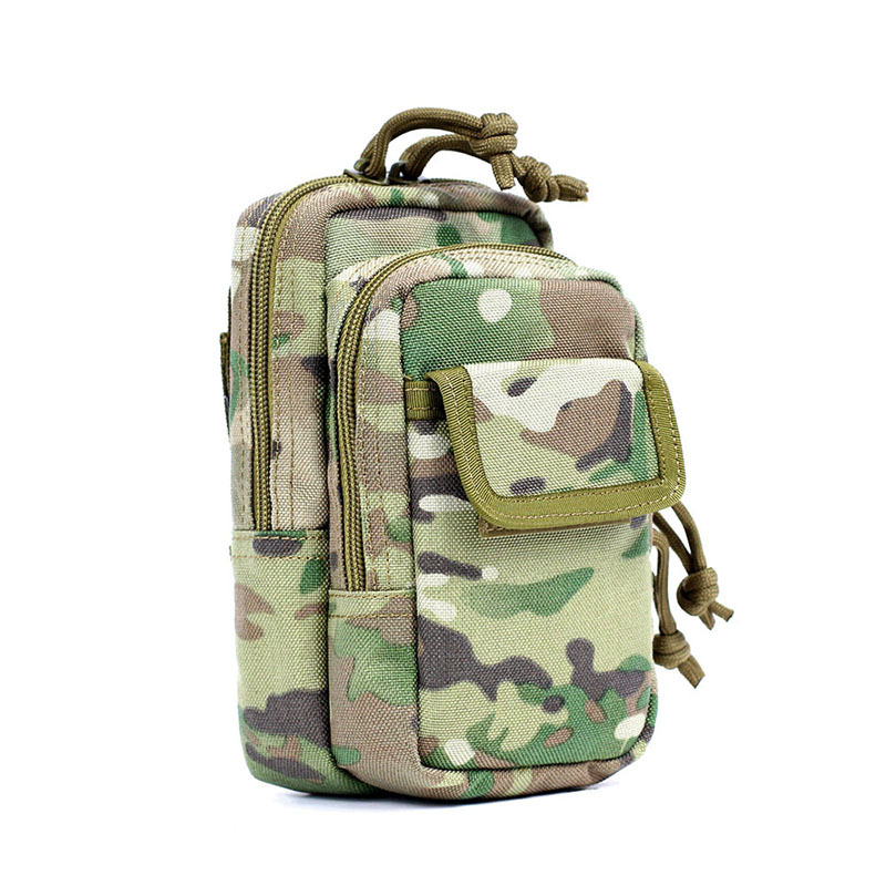 Buy FAITH PRO Camouflage Mobile Phone Molle EDC Tactical Belt Bag Pack Waterproof Accessory Storage Pouch