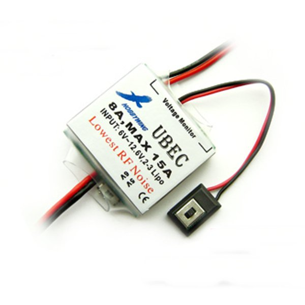 Buy Hobbywing 2-3S External 8A MAX 15A UBEC Switch Mode