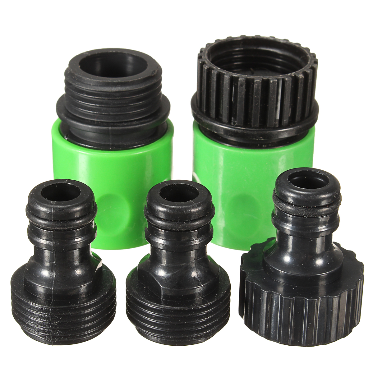 5pcs Rubber Hose Water Faucet Tap Adapter Rubber Nozzle